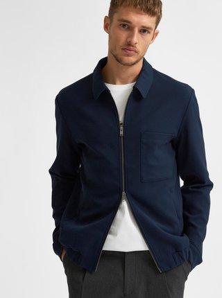 Tmavě modrá bunda Selected Homme