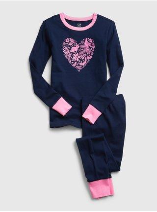 Modré holčičí pyžamo GAP