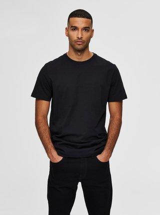 Černé basic tričko Selected Homme