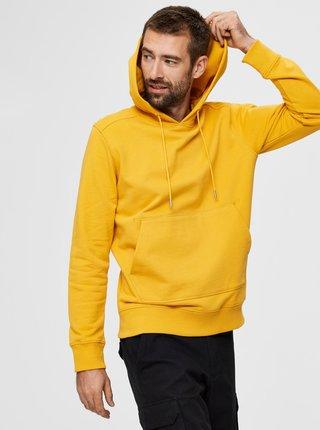 Žltá basic mikina Selected Homme