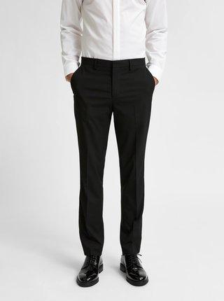 Čierne oblekové nohavice Selected Homme