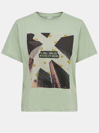Tricouri pentru femei Jacqueline de Yong - verde deschis