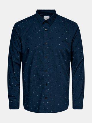 Tmavě modrá košile ONLY & SONS
