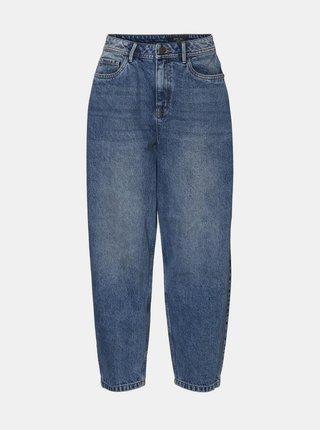 Modré mom džíny Noisy May Sella