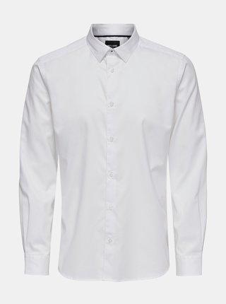 Bílá košile ONLY & SONS Cafu