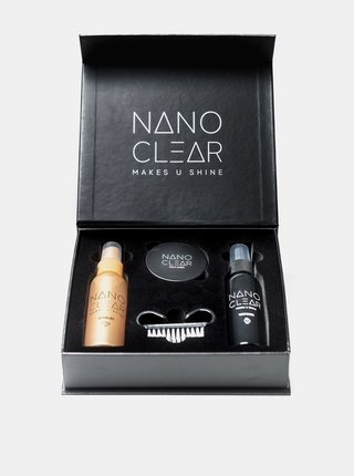 Sada čistících prostředků a leštidla na hodinky a šperky NANO CLEAR 60/60/30 ml