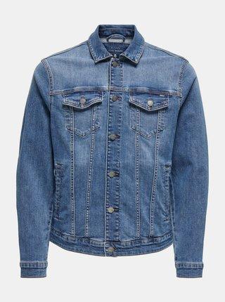 Modrá džínová bunda ONLY & SONS