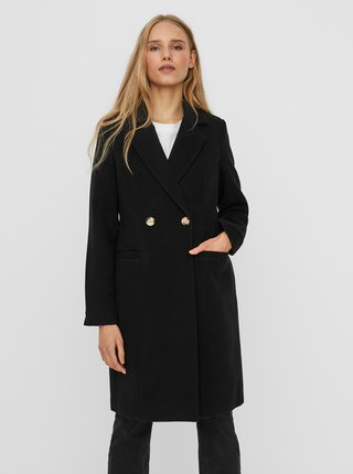 Čierny zimný kabát VERO MODA