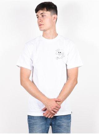 Dc TFUNK TATIANA white pánské triko s krátkým rukávem - bílá