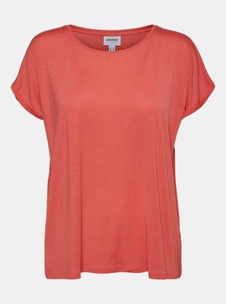 Topuri si tricouri pentru femei AWARE by VERO MODA - corai