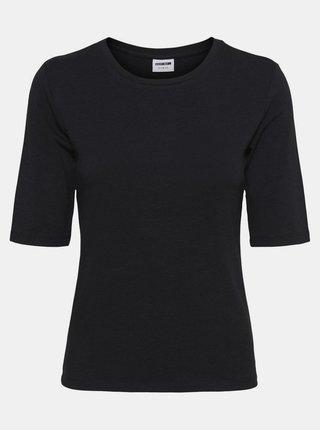 Čierne tričko Noisy May Lina