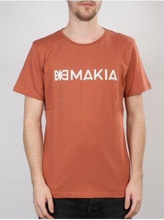 MAKIA FLAG & MAKIA COPPER pánské triko s krátkým rukávem - oranžová