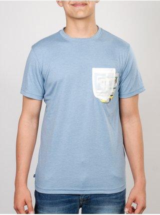Etnies REIY PACIFIC BLUE pánské triko s krátkým rukávem - modrá