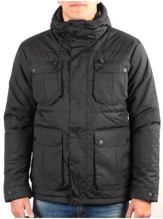 Globe INFANTRY black zimní pánská bunda - černá