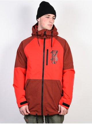ARMADA CARSON INSULATED port zimní pánská bunda - červená