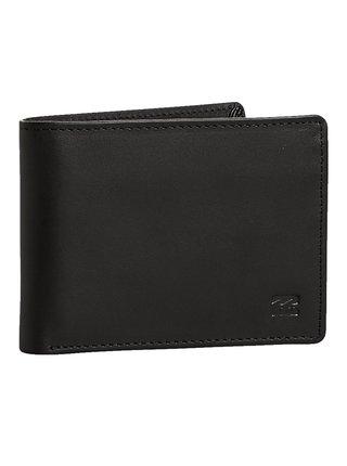 Billabong VACANT LEATHER black pánská značková peněženka - černá