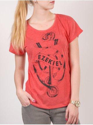 Ezekiel Sink Or Swim VRD dámské triko s krátkým rukávem - červená
