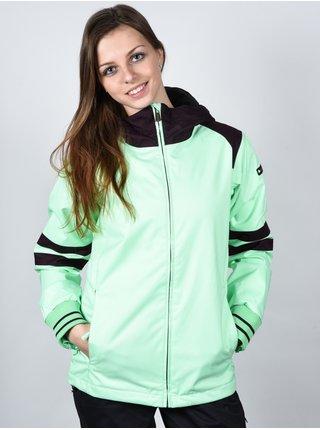 Ride CROWN ins. 6741 MINT/HERRINGBON zimní dámská bunda - zelená