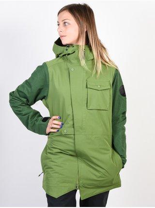 ARMADA HELENA INSULATED SAGE zimní dámská bunda - zelená