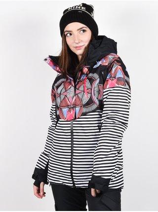 Roxy FROZEN FLOW TRUE BLACK ACTIVE BASE zimní dámská bunda - černá