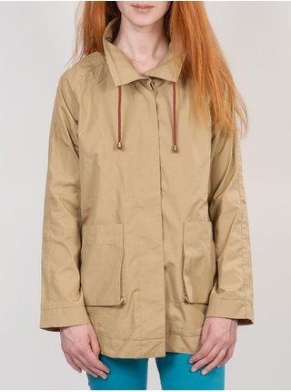 Ezekiel TREATY SAFARI podzimní bunda pro ženy - béžová