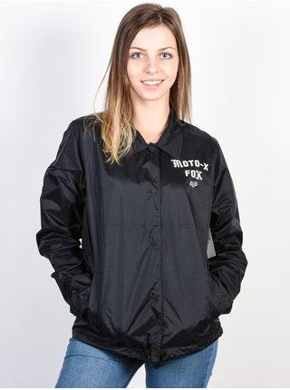 Fox Pit Stop Coaches black podzimní bunda pro ženy - černá