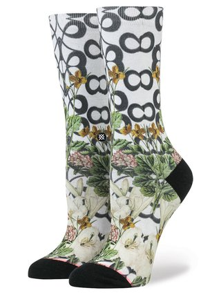 Stance LATTICE WALL GREY dámské ponožky - béžová