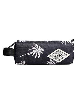 Billabong SHARPEN UP BLACK/WHITECAP penál do školy - černá