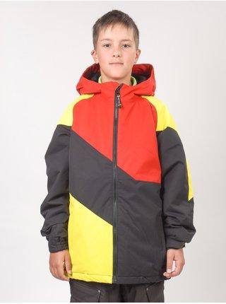 Ride 5/5 HEMI ins. 9401 BLACK zimní dětská bunda - oranžová