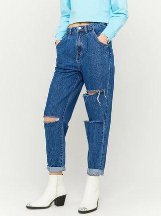 Modré zkrácené mom fit džíny TALLY WEiJL