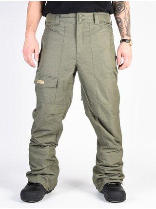 Dc DEALER BEETLE lyžařské kalhoty pánské - zelená