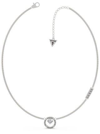 Guess stříbrný náhrdelník All Around You