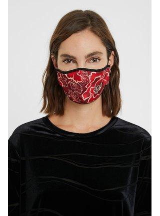 Desigual oboustranná rouška Mask Flores Funda