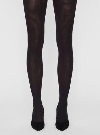 Černé punčochové kalhoty VERO MODA