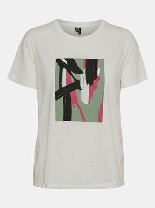 Tricouri pentru femei VERO MODA - alb