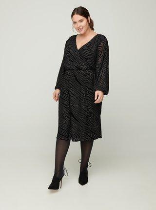 Černé společenské šaty Zizzi