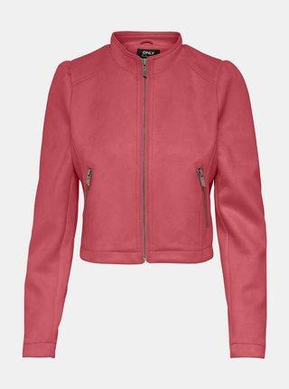 Jachete din piele naturala si sintetica pentru femei ONLY - roz
