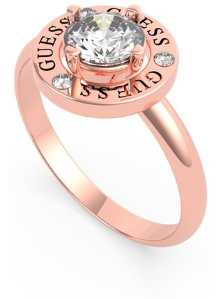 Guess rose gold prsten All Around You