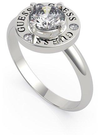 Guess strieborné prsteň All Around You