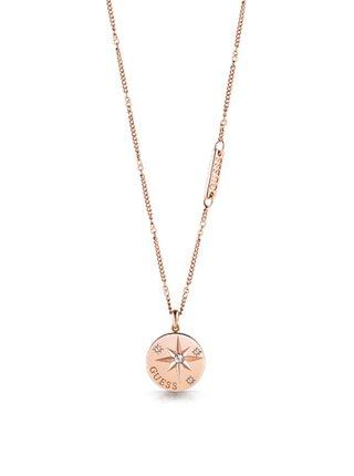 Guess rose gold náhrdelník Wanderlust