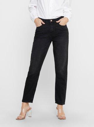 Černé mom fit džíny ONLY
