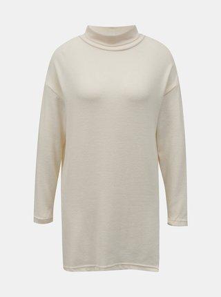 Krémový dlhý sveter so stojáčikom TALLY WEiJL