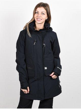 Dc PANORAMIC 30K black zimní dámská bunda - černá