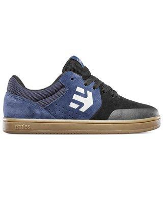 Etnies MARANA BLACK/BLUE letní boty dětské - černá