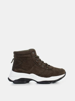 Pantofi sport si tenisi pentru femei MUSK - kaki