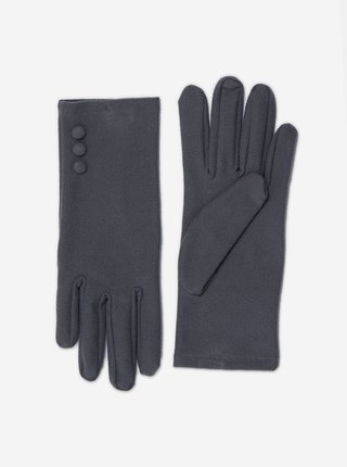 Šedé rukavice Dorothy Perkins