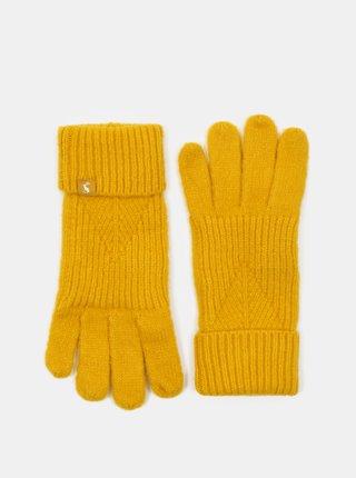 Žlté dámske rukavice Tom Joule