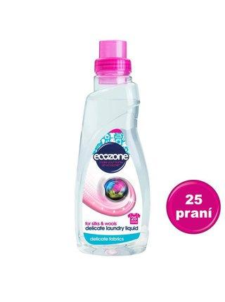Prací gel na vlnu a hedvábí 750 ml Ecozone