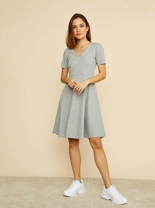 Šedé basic šaty ZOOT Julia