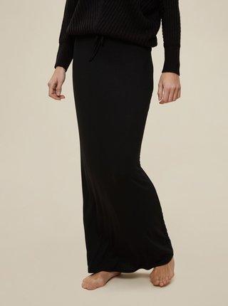 Černá maxi sukně Dorothy Perkins